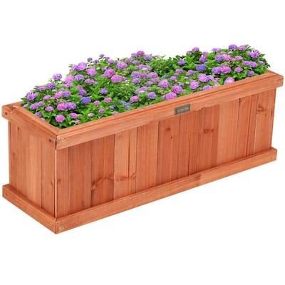 Cedar Flower Deck Floor Planter Free Shipping