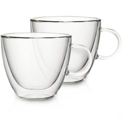 Artesano Hot Beverages 14 oz. Double Wall Large Cup (2-Pack)