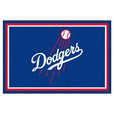 Los Angeles Dodgers 5 ft. x 8 ft. Area Rug