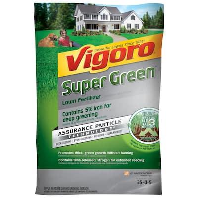 16 lb. 5,000 sq. ft. All Season Super Green Lawn Fertilizer