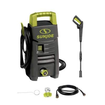 1600 PSI Max 1.45 GPM 11 Amp Cold Water Electric Pressure Washer with Adjustable Spray Wand