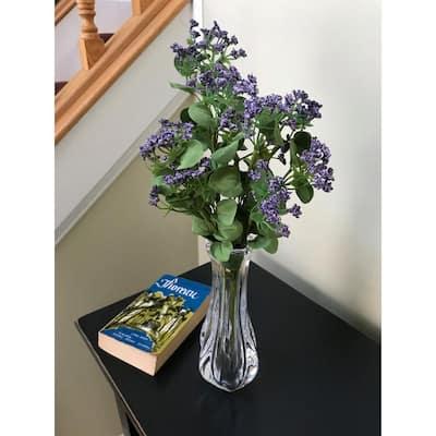 18 in. Purple Queen Anne's Lace Wildflower Bush