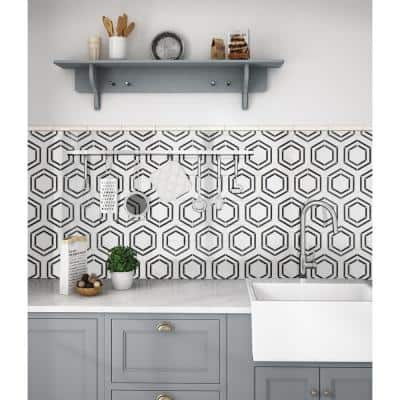 Georama Nero mosaic adds a dash of contemporary style