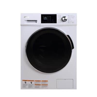 2.7 cu. ft. White All-in-One Front Loading Washer and Dryer Combo