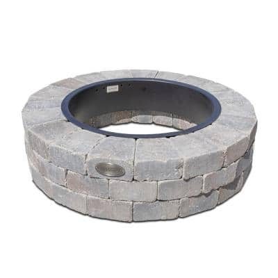 Grand 48 in. Fire Pit Kit in Bluestone