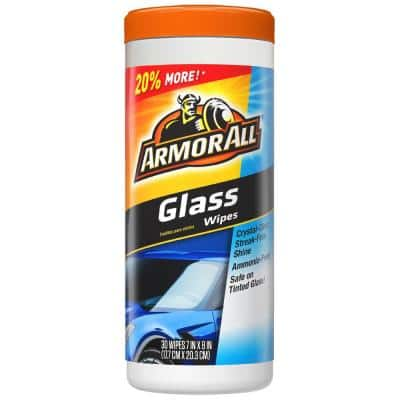 Glass Wipes (30-Count)