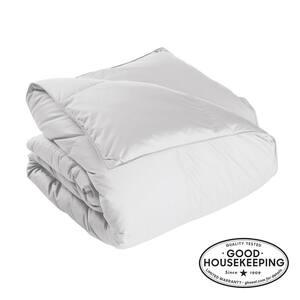 Alberta Extra Warmth White Twin Euro Down Comforter