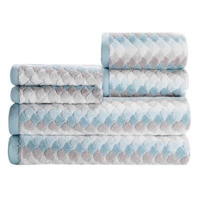 Salina Seaglass Six Piece Towel Set