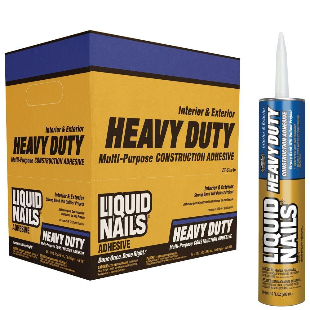 Liquid Nails Heavy Duty 28 oz. Tan Solvent Based Construction Adhesive