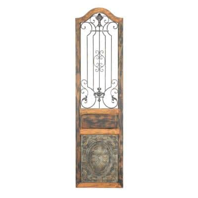 Rustic 72 in. Arched Decorative Wall Panel