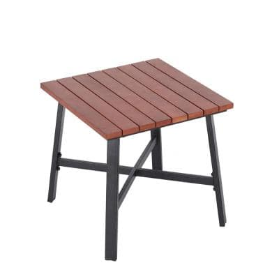 Plaza Mayor Square Wood Outdoor Accent Table