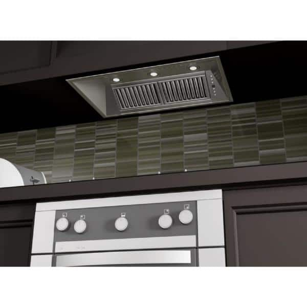 Zline Kitchen And Bath Zline 40 In Range Hood Insert In Stainless Steel 695 40 695 40 The Home Depot