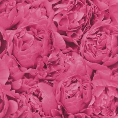 Rosenfield Pink Floral Wallpaper Sample