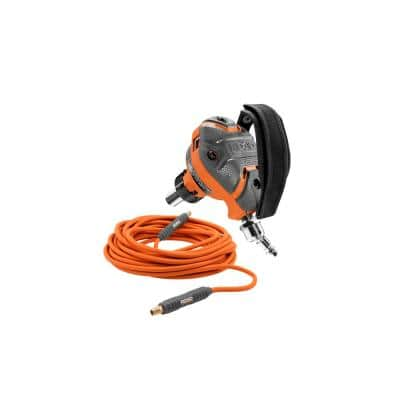 RIDGID 3-1/2 in. Full-Size Palm Nailer w/ 1/4 in. 50 ft. Lay Flat Air Hose
