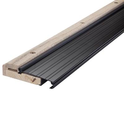 3 ft. x 4-1/2 in. x 1-1/8 in. Oak and Vinyl Threshold