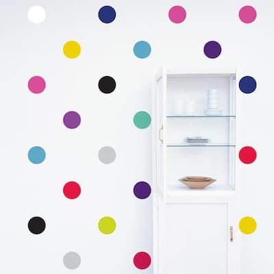 """""""Polka Dots"""" Kids Wall Decal (2-Sheets)"""