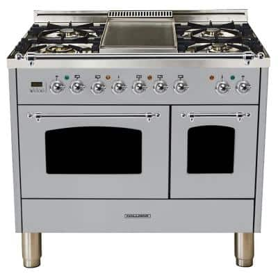 Stainless Steel 40 In Ranges Liances The Home Depot