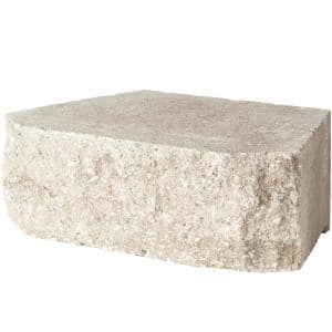 6.75 in. L x 11.63 in. W x 4 in. H Merriam Blend Retaining Wall Block (144 Pieces/ 46.6 Sq. ft./ Pallet)