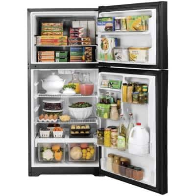 19.2 cu. ft. Top Freezer Refrigerator in Black, ENERGY STAR