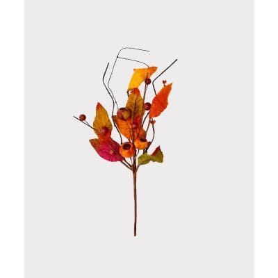 12 in. Fall Leaf and Pod Pick (Set of 12)