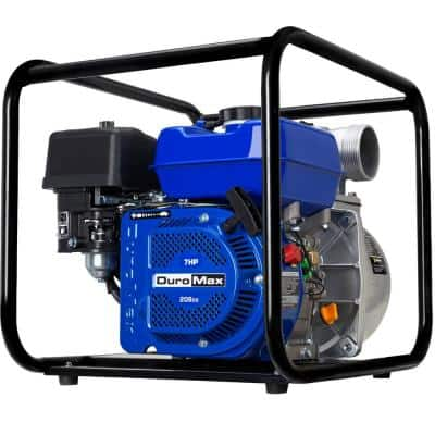 DUROMAX 7 HP 2-inch Portable Utility Gasoline Powered Water Pump