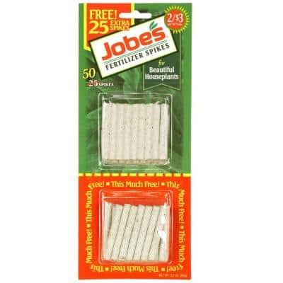 Houseplant Plant Food Fertilizer Spikes (50-Pack)