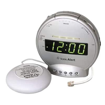 Alarm Clock with Phone Signaler and Vibrator