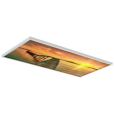 2 x 4 Fluorescent Light Filters Beach 001