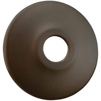 2-1/2 in. O.D. x 3/8 in. Height Low Pattern Steel Escutcheon for 1/2 in. Copper Tubing in Oil Rubbed Bronze