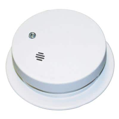 Battery Operated Smoke Detector with Ionization Sensor