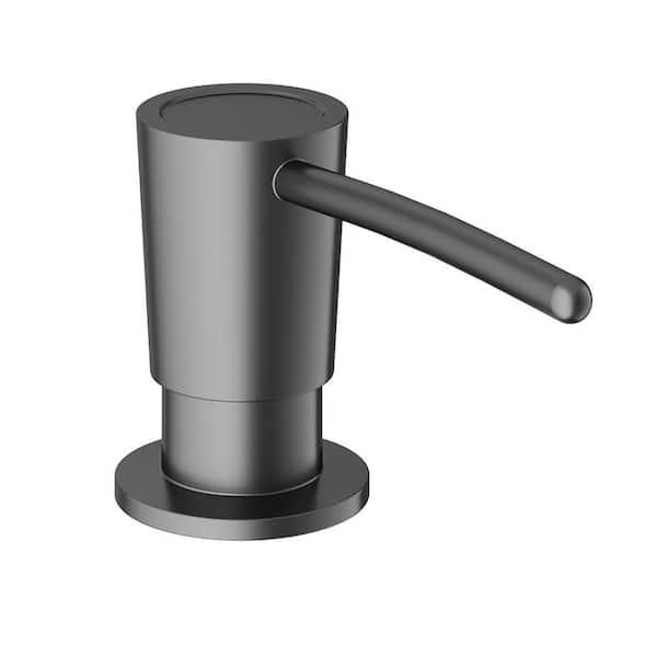 Vigo Kitchen Soap Dispenser In Graphite Black Vgsd003gb The Home Depot