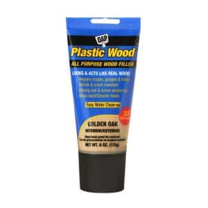 Plastic Wood 6 oz. Gold Oak Latex Wood Filler (6-Pack)