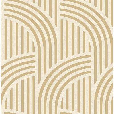 Neutral Gatsby Self Adhesive Wallpaper Sample