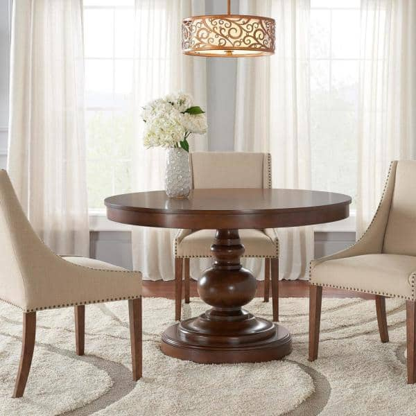 Home Decorators Collection Greymont, Round Kitchen Table Set With 6 Chairs