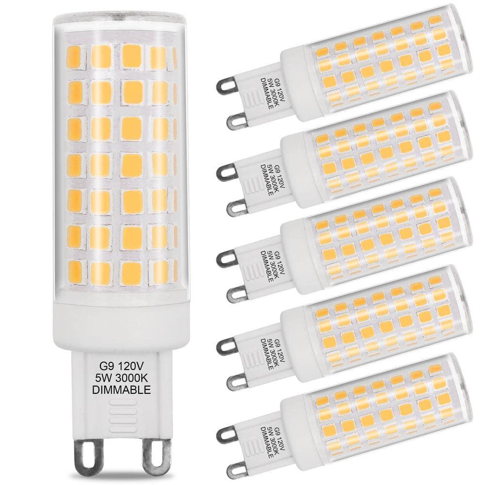 ARTIVA 12K 12 Watt Equivalent G12 Dimmable LED Light Bulb Set of  12 LED G12 12TDM 12 12   The Home Depot