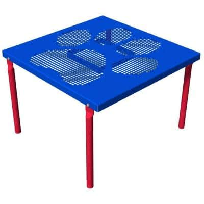 Playful Colors Paws Commercial Grooming Table