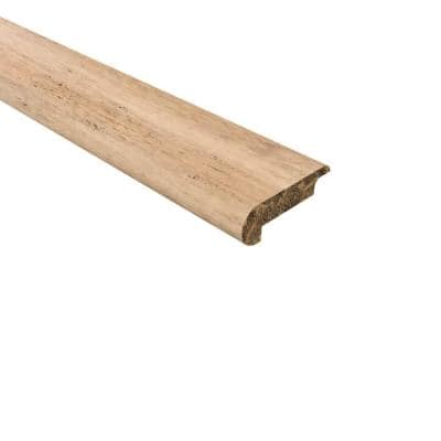 Strand Woven Bamboo Sedalia 0.438 in. T x 2.17 in. W x 72 in. L Bamboo Overlap Stair Nose Molding