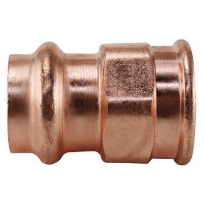 3/4 in. x 3/4 in. Copper Press x FPT Pressure Adapter