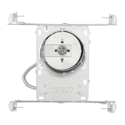 6 in. New Construction IC Rated Aluminum Recessed Lighting Housing for Ceiling
