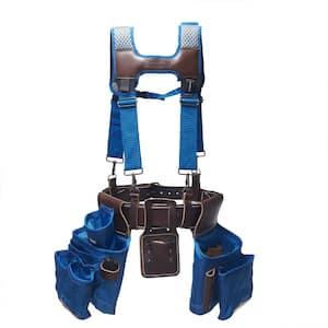 Blue Leather Hybrid 19-Pocket Suspension Rig