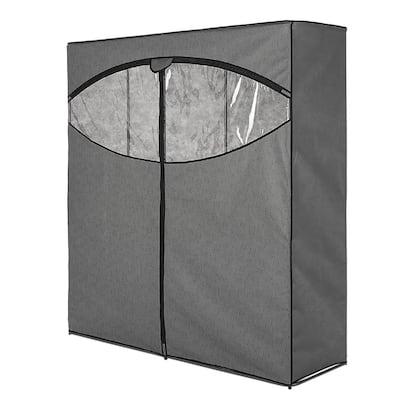 Gray Portable Closet (60 in. W x 64 in. H)