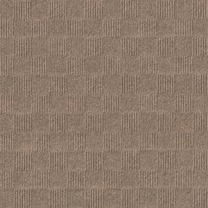 First Impressions City Block Chestnut 24 in. x 24 in. Commercial Peel and Stick Carpet Tile (15-tile / case)