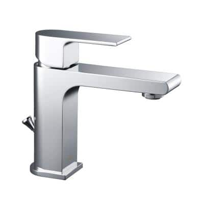 Monty Single Hole 1-Handle 1.2 GPM CALGreen Bathroom Faucet in Chrome