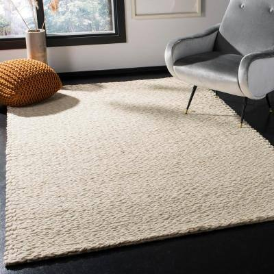 Natura Ivory 5 ft. x 8 ft. Solid Gradient Area Rug