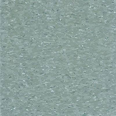 Imperial Texture VCT 12 in. x 12 in. Silver Green Standard Excelon Commercial Vinyl Tile (45 sq. ft. / case)