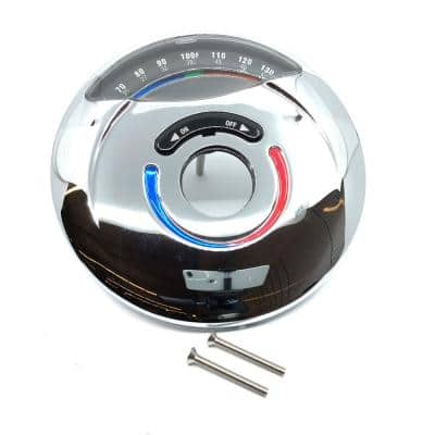 Visu-Temp Escutcheon Kit with Thermometer