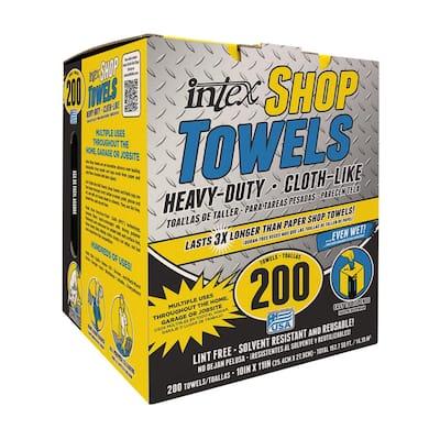 200-Count Heavy Duty Blue Painter's Shop Towel