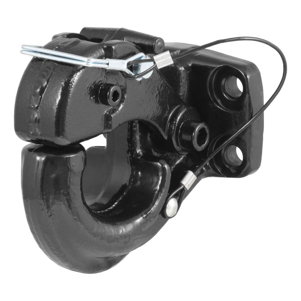 Pintle Hook Fits 60,000 lbs. 2-1/2 in. or 3 in. Lunette Eyes