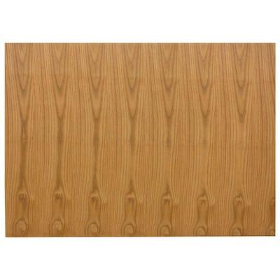 0.1875x34.5x48 in. Kitchen Island or Peninsula End Panel in Medium Oak