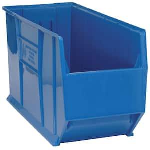 36 in. Quantum Hulk 45 Gal. Storage Tote in Blue (1-Pack)